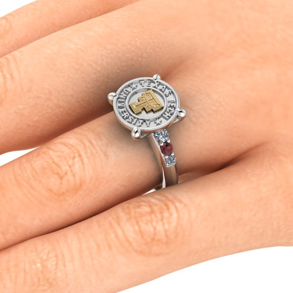 Texas Tech Simple Sophistication Ring