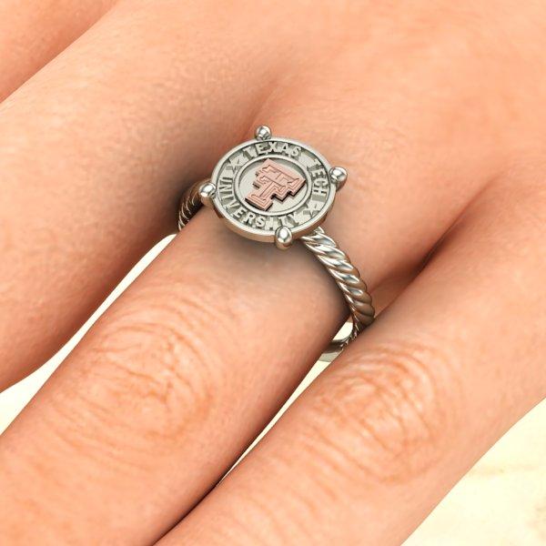 Texas Tech Roper Ladies Ring