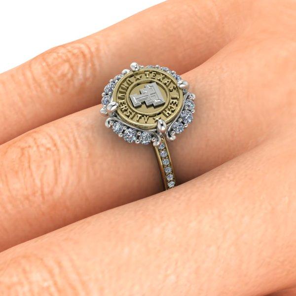 Texas Tech Vintage Inspirations Ladies Ring
