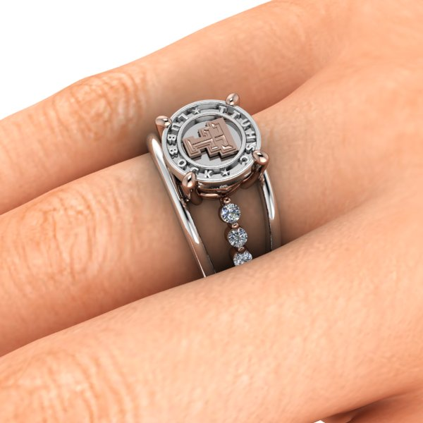 Texas Tech Wide Open Spaces Ring