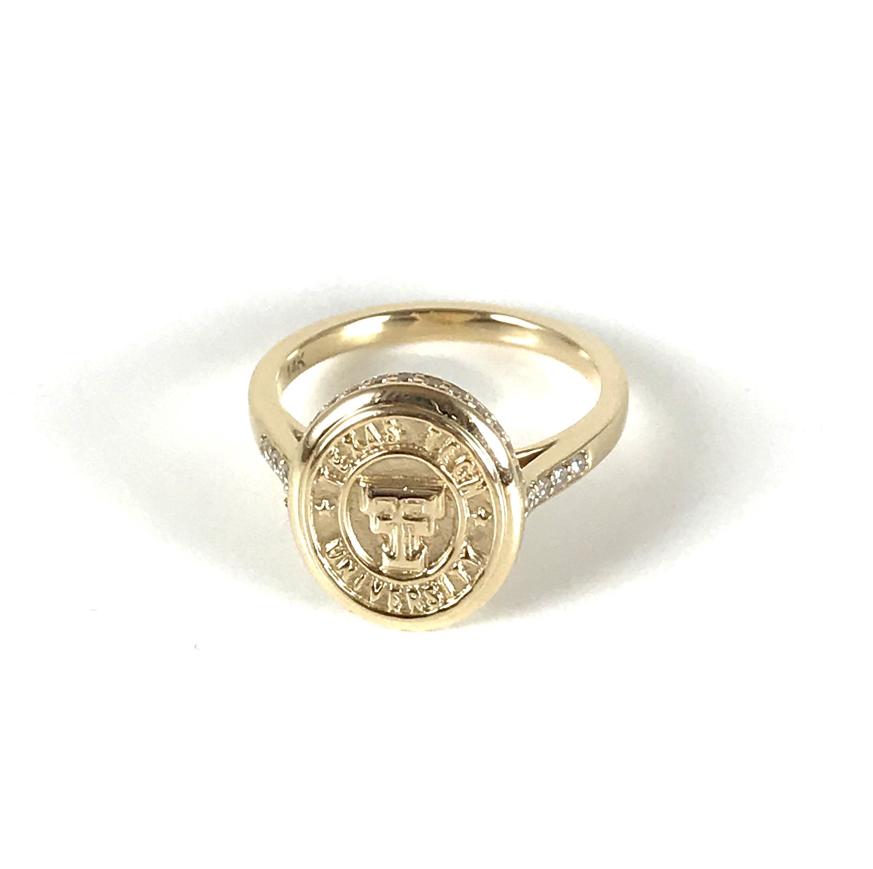Texas Tech Classic Elegance Ladies Ring