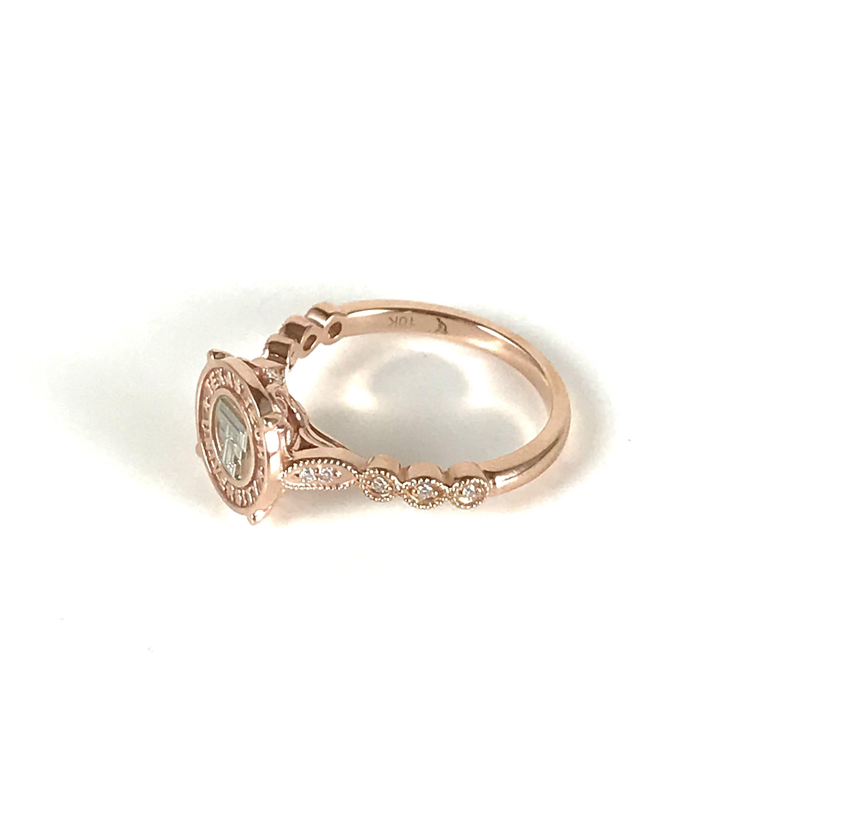 Texas Tech Simple Vintage Ring