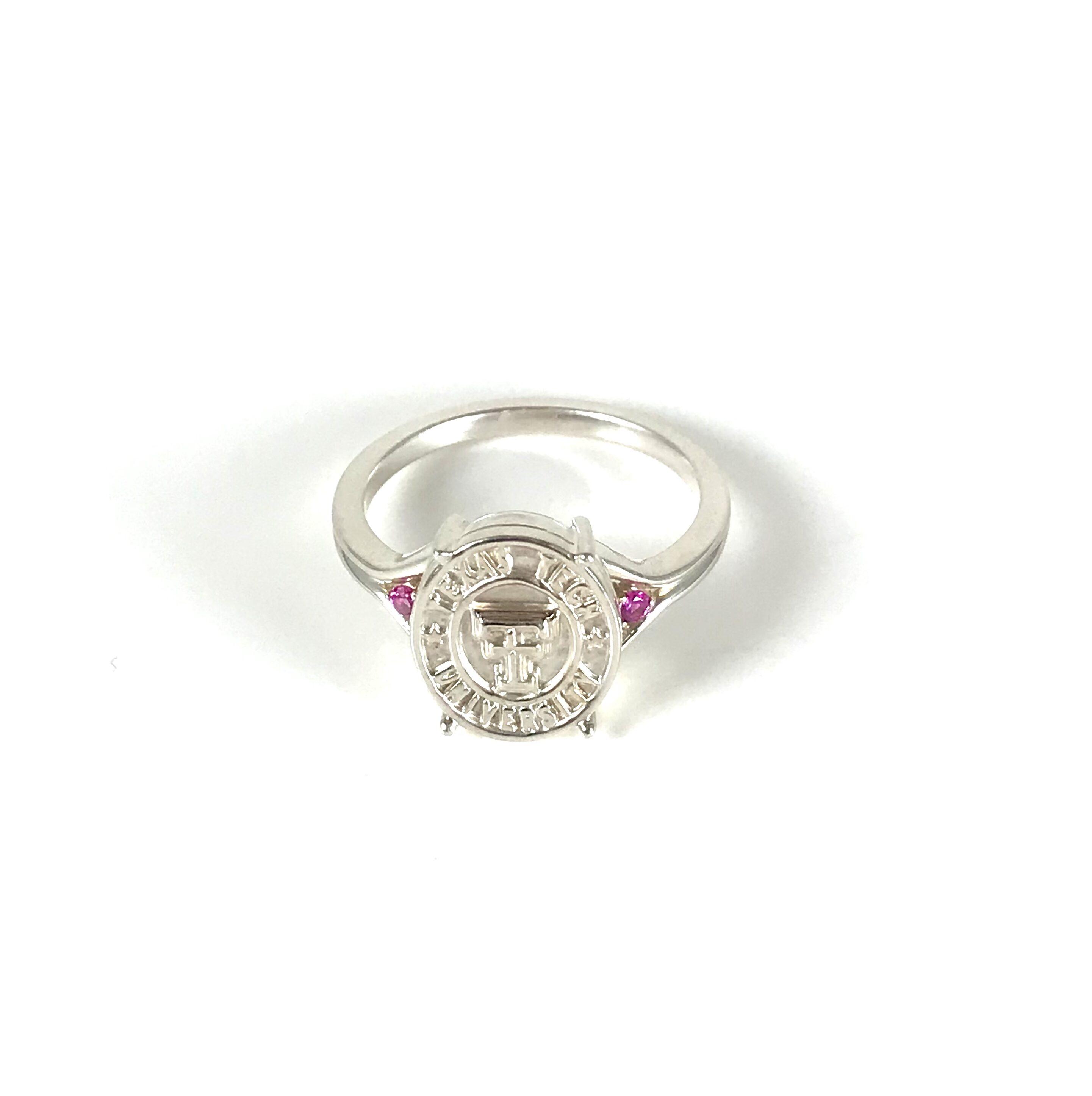 Texas Tech Red Raider Spirit Ladies Ring