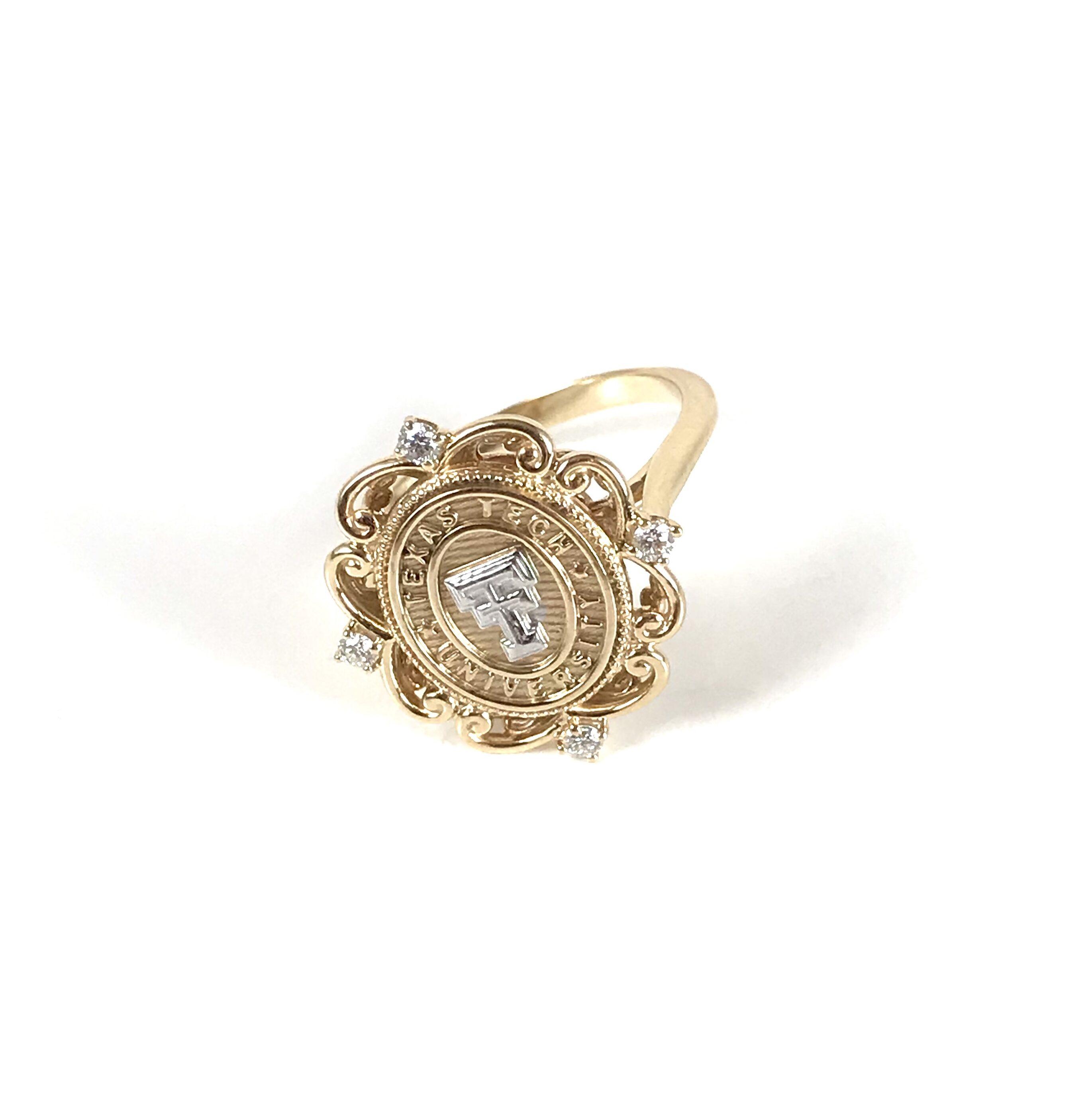 Texas Tech Vintage Matador Ring